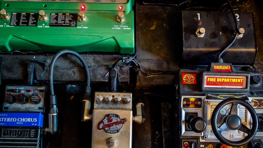 The more unnecessary stompboxes on your pedalboard, the more things that can potentially go wrong when you're up on stage... Go on, you know which ones you really need!