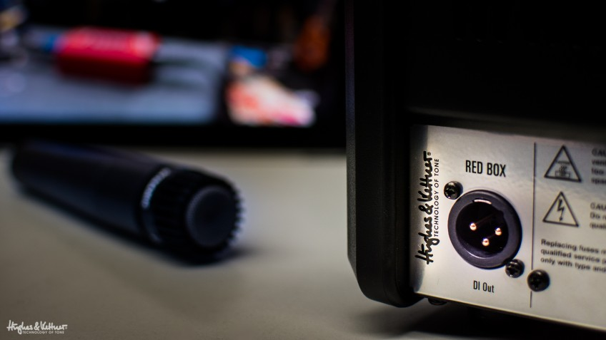 These are the two best ways to record your tube amp: you could go down the classic mic route, or use a Direct Input device, like the Hughes & Kettner Red Box. The results can differ greatly, so try both and choose the approach that fits you best...