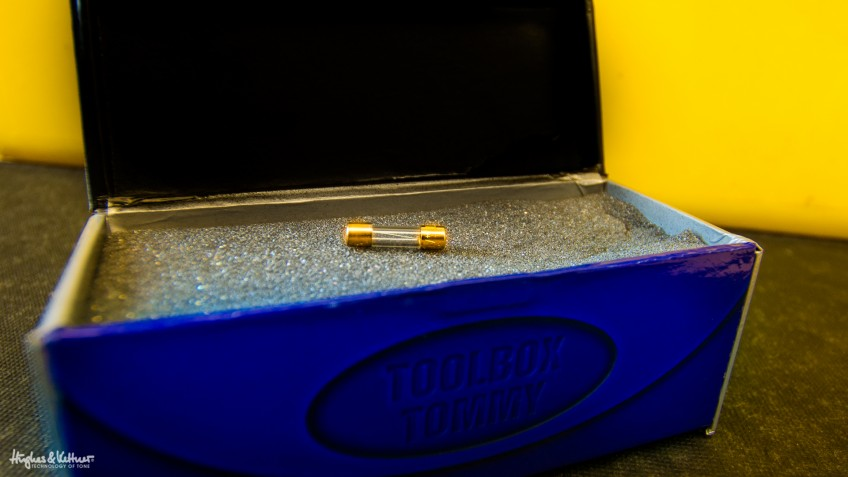 Bow down to the fabled gold caps! Or don't, it's your choice. They might look amazing, but is anyone really going to notice if you get these put in your amp?