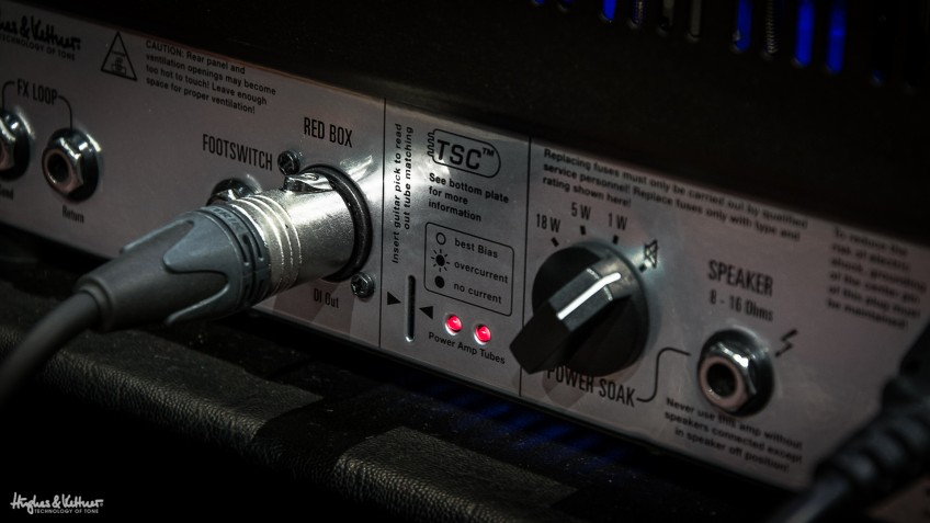 One other benefit of many modern-day amps is their connectivity. Some, like this one, feature DI outputs, which enable you to run your amp directly to your mixer or computer, effectively allowing silent home playing and recording - and this feature's great for gigging without a cab too.