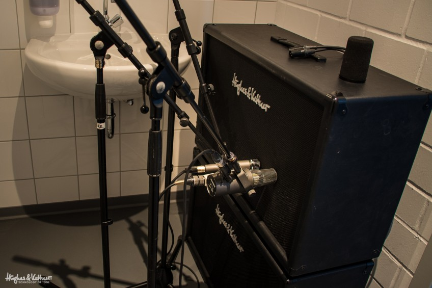 We recently achieved supernatural tube tones by miking up one of our TM212 cabs in a toilet. A girls' toilet, no less. But there has to be an easier way... right?