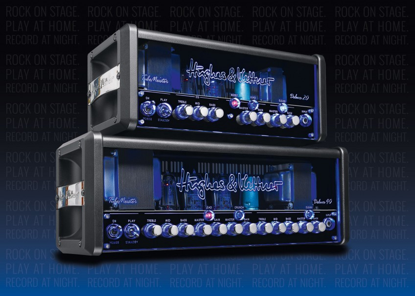 The Hughes & Kettner TubeMeister Deluxe 20 and Deluxe 40. Cathode follower? Check. The Deluxe amps mix the best of traditional tube tones with state-of-the-art technical features, making your life as a guitar player more fun, easier - and better sounding - than ever before!