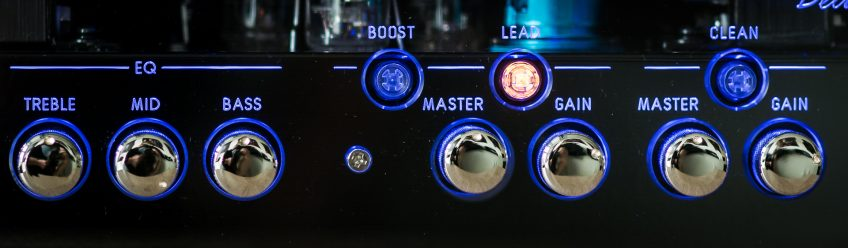 We'll get into more detail down below, but this is how we set our amp up to get Jimi tones!