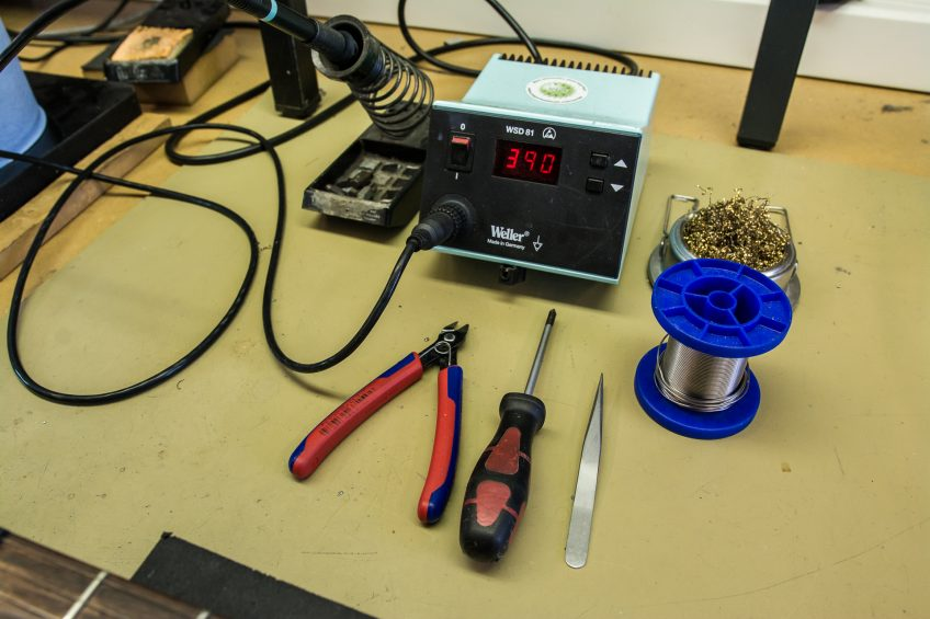These are the tools you'll need to perform the treble bleed mod successfully. Now just make sure the cat's out of torching distance and you're ready to go!