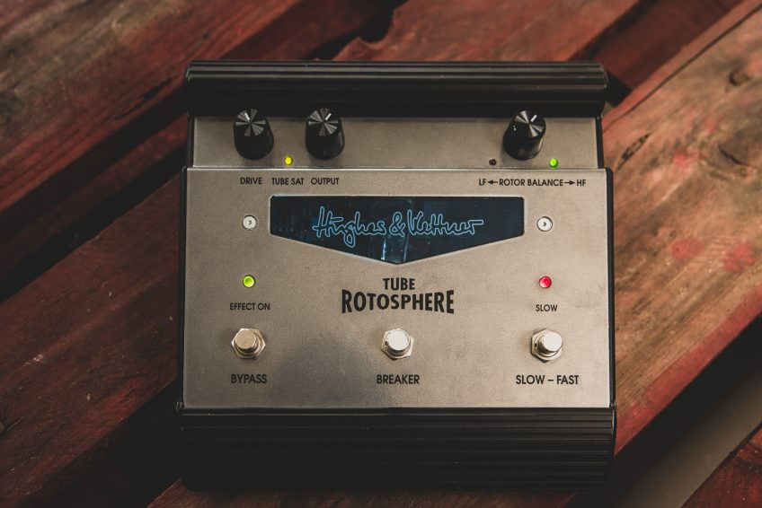 This is it: the legendary Hughes & Kettner Tube Rotosphere pedal.
